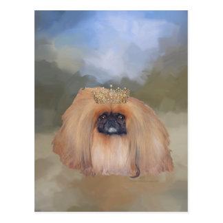 Pekingese Royal Postcard