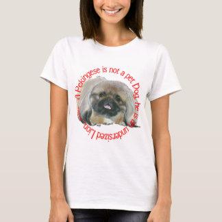 Pekingese Wisdom - Undersized Lion ! T-Shirt