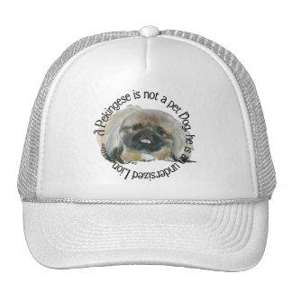 Pekingese Wisdom - Undersized Lion ! Trucker Hat