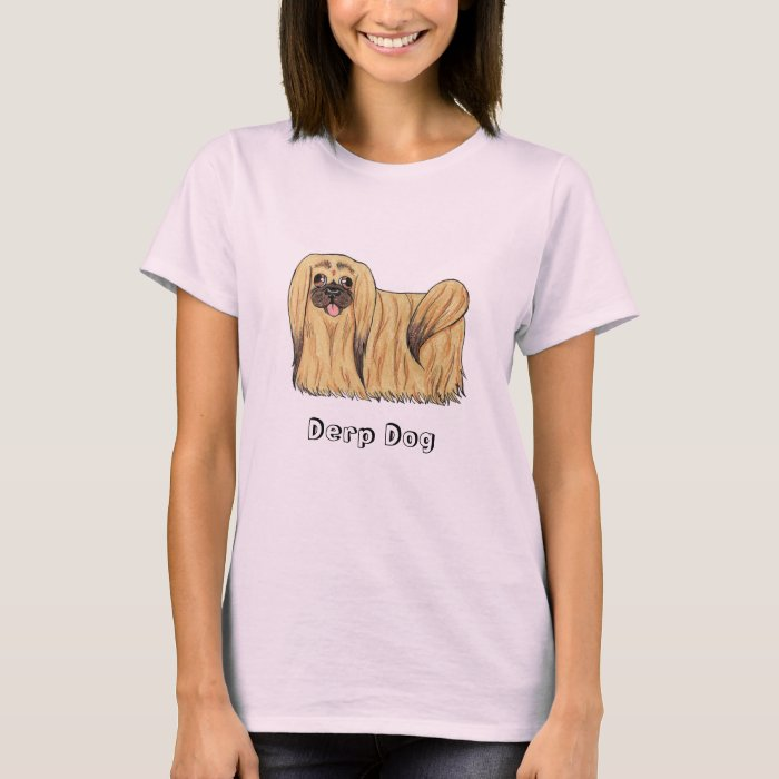 Pekingeses Derp Dog T-Shirt