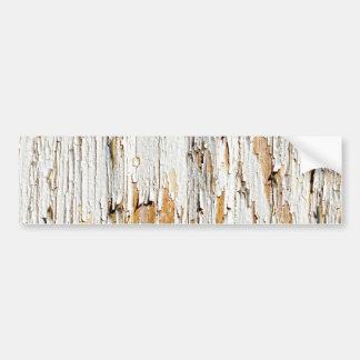 Peladura del extracto blanco de la pintura pegatina de parachoque