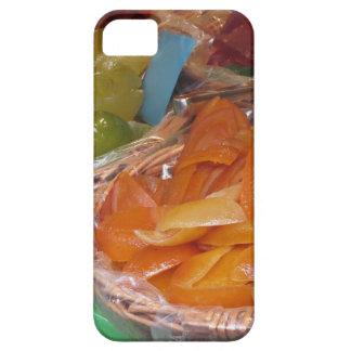 Peladuras de fruta escarchadas dulces. Receta Funda Para iPhone SE/5/5s