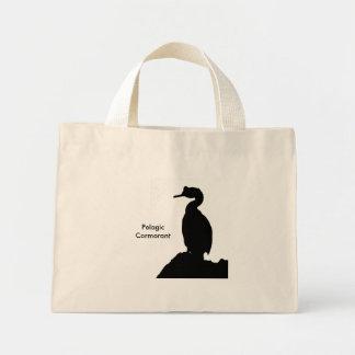 Pelagic Cormorant silhouette Bag