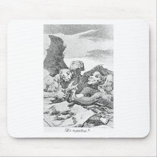 Pelan por Francisco Goya Alfombrilla De Raton
