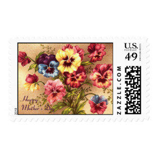 Pelargonium Mother's Day Card Stamps