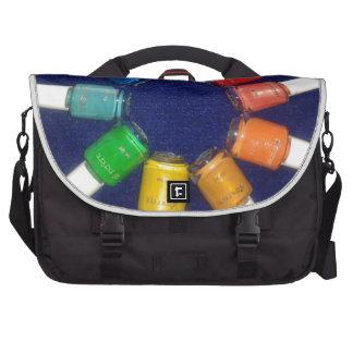 pele apagado los colores del clavo bolsas para ordenador