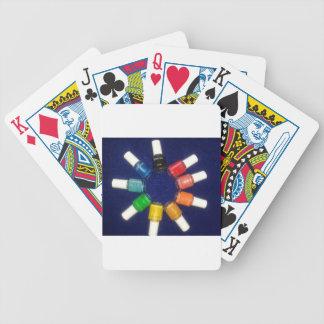 pele apagado los colores del clavo baraja cartas de poker
