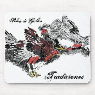 Pelea de Gallos Tradiciones Mousepads