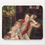 Pelea de la familia, 1890 alfombrilla de raton
