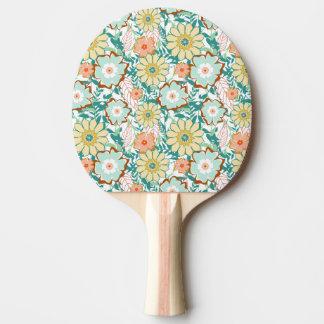 Pelea floral pala de ping pong