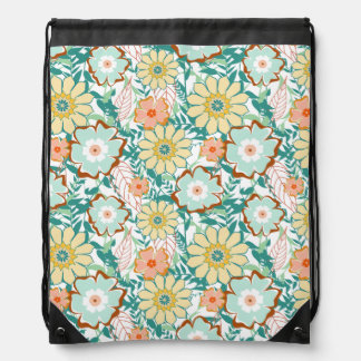 Pelea floral mochilas