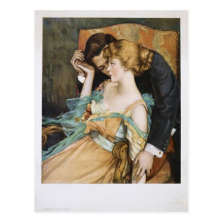 Pélele amor para tocar a Maria Greene Blumenschein Tarjetas Postales