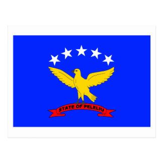Peleliu Flag Postcard