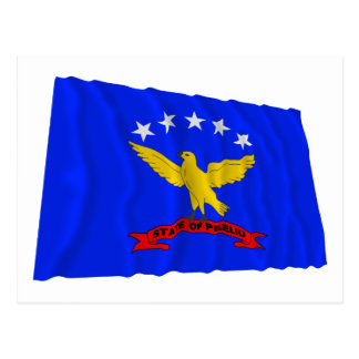 Peleliu Waving Flag Postcard