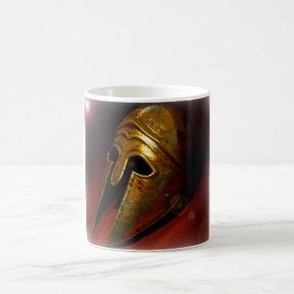 Peleponese helmet coffee mug