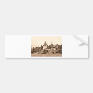 Peles Castle in Sinaia, Romania Bumper Sticker