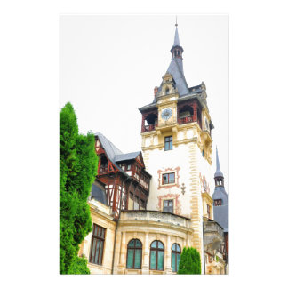 Peles Castle in Sinaia, Romania Stationery