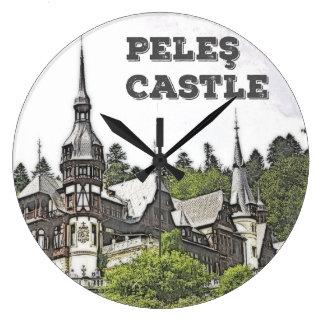 Peles Castle Large Clock