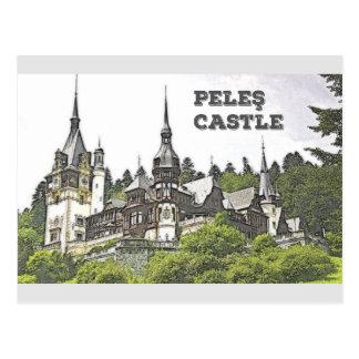 Peles Castle Postcard