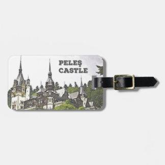 Peles Castle, Romania Luggage Tag