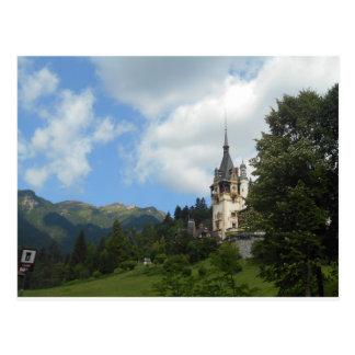 Peles Castle, Romania Postcard