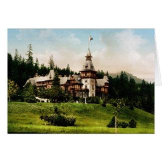 Peles Castle Sinaia Romania Card