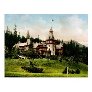 Peles Castle Sinaia Romania Postcard