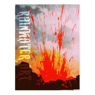 Pele's Fire Postcard