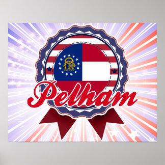 Pelham, GA Print