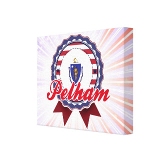 Pelham, MA Stretched Canvas Prints