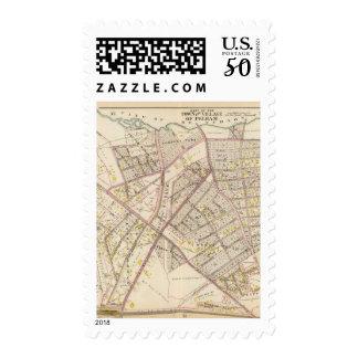 Pelham town, New York Postage
