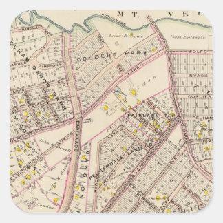 Pelham town, New York Square Sticker