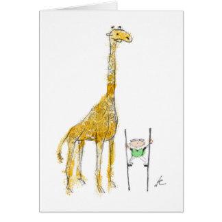Pelham y la tarjeta de la jirafa