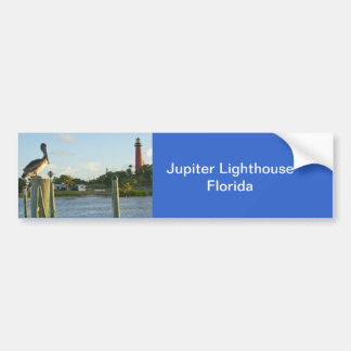 Pelican and Lighthouse Bumper Sticker
