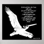 Pelican Art Isaiah 41:10 Print