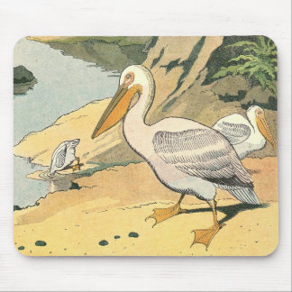Pelican at the Sea Shore Mouse Pad