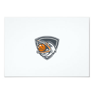 Pelican Basketball In Mouth Shield Retro Card
