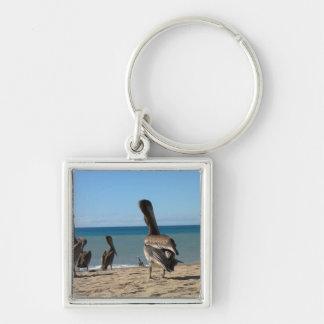 Pelican Beach Bums Keychain