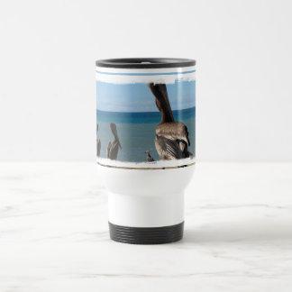 Pelican Beach Bums Coffee Mugs