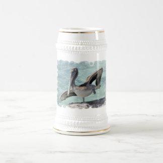 Pelican  Beer Stein 18 Oz Beer Stein