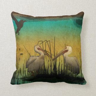 Pelican Bird Pillow