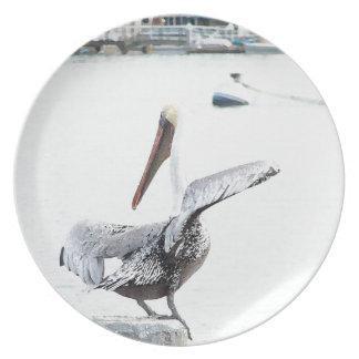 Pelican Bird Plate