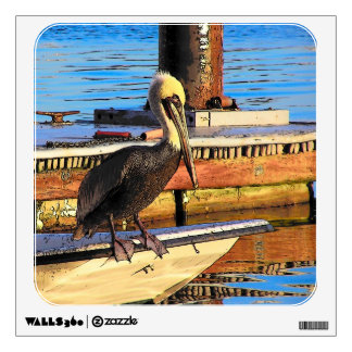 Pelican Bird Wall Decal