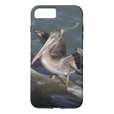 Beach Themed Pelican Bird Wildlife Animal Beach iPhone 7 Case