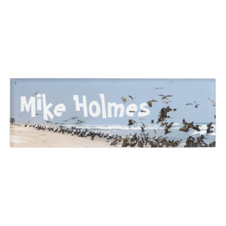Pelican Birds Beach Wildlife Animals Name Tag