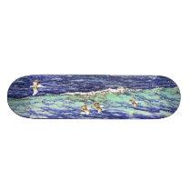 Pelican Birds Beach Wildlife Ocean Animals Skateboard
