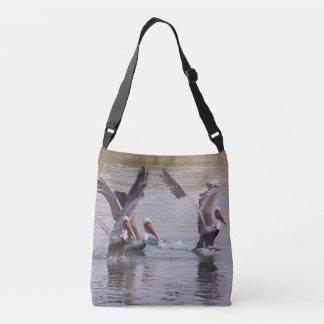 Pelican Birds Wildlife Animals Beach Bag