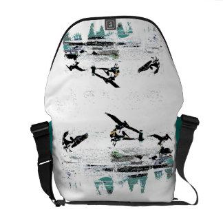 Pelican Birds Wildlife Animals Beach Courier Bag