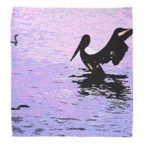 Pelican Birds Wildlife Animals Beach Ocean Bandana