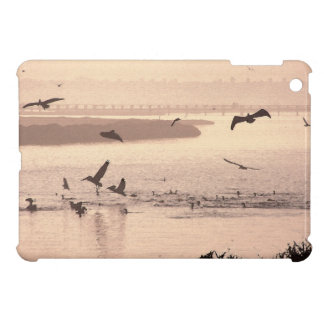 Pelican Birds Wildlife Animals Beach Ocean Cover For The iPad Mini